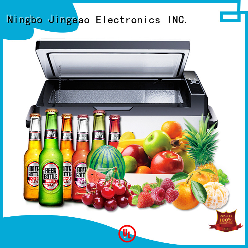 Jingeao small mobile fridge prices certifications for vans