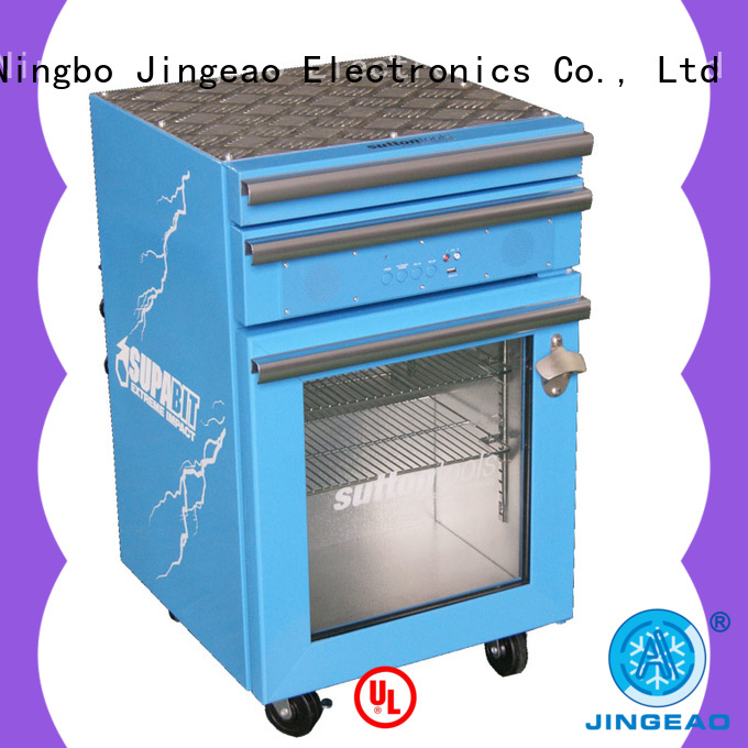 Jingeao automatic toolbox cooler grab now for supermarket