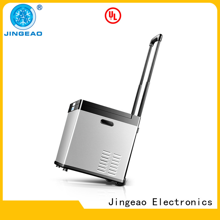 Jingeao car portable fridge price workshops for vans