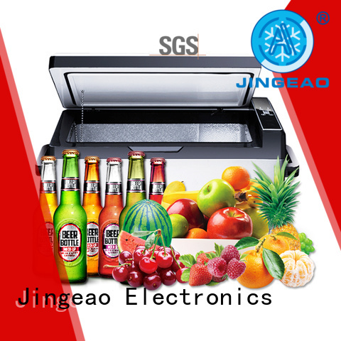 Jingeao small car fridge freezer constantly for car