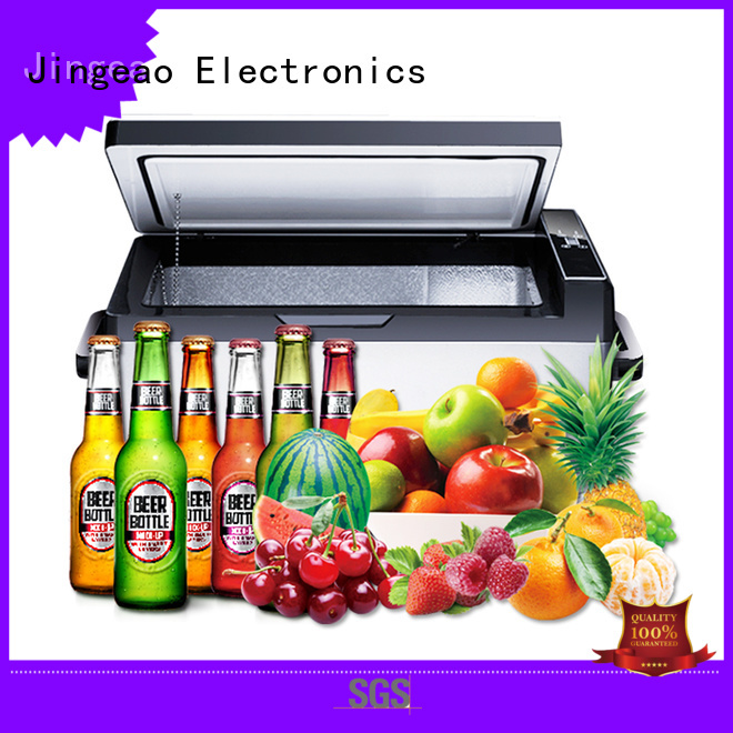 Jingeao car travel refrigerator management for vans