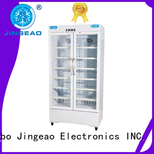 Jingeao high quality pharmaceutical fridge temperature for pharmacy