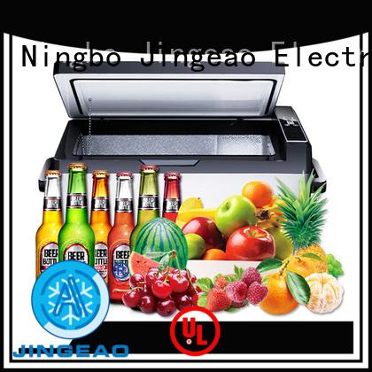 Jingeao fashion design portable fridge workshops for vans