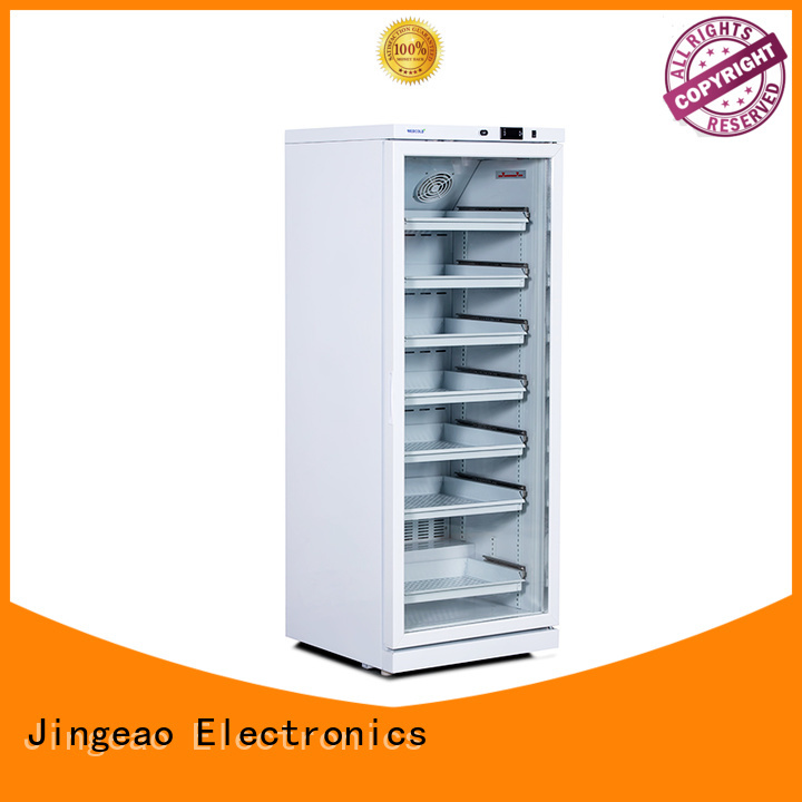 Jingeao power saving medical refrigerator supplier for hospital