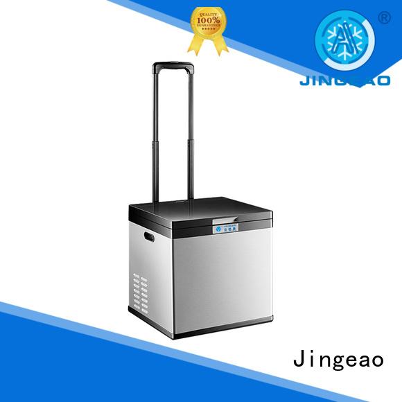 Jingeao automatic car fridge certifications for vans