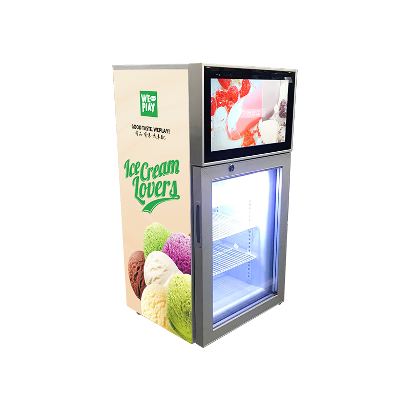 Fridge With LCD Screen, Viedo Fridge SC42F