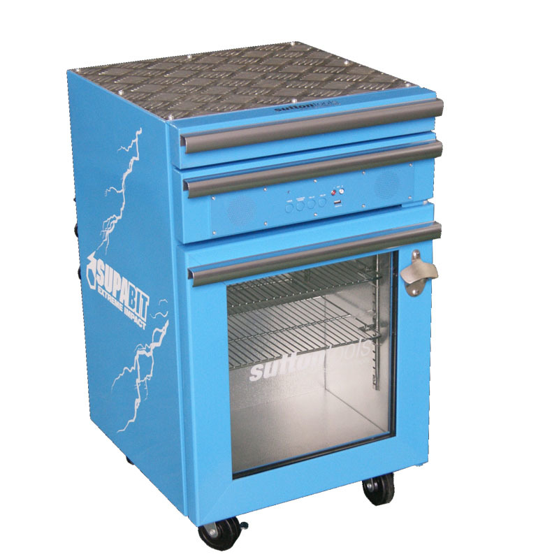 Jingeao blue toolbox freezer for wine