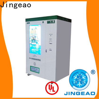 Jingeao new arrival Refrigerated Vending Machine overseas market for hospital