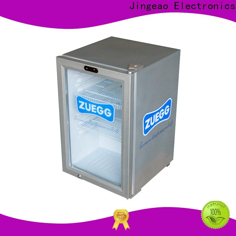 Jingeao fridge commercial display fridge for sale application for bar