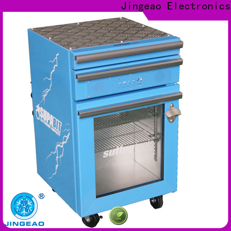 Jingeao drawers tool box refrigerator marketing for supermarket