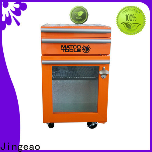 Jingeao high quality tool box refrigerator buy now for bar