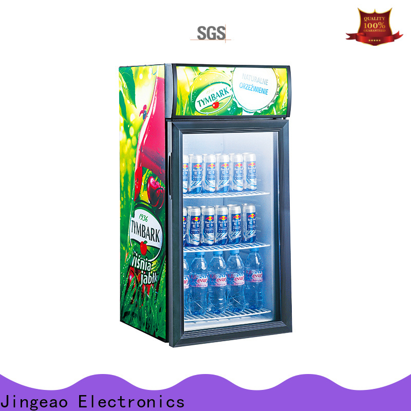 Jingeao beverage beverage display coolers protection for wine
