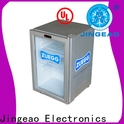 Jingeao Custom countertop display refrigerator factory price for restaurant