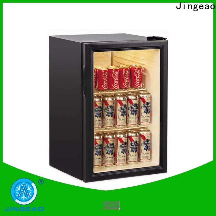 Jingeao Top under counter fridge glass door price for market