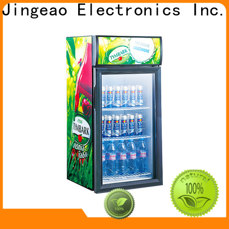 Jingeao Latest commercial drinks cooler suppliers for restaurant