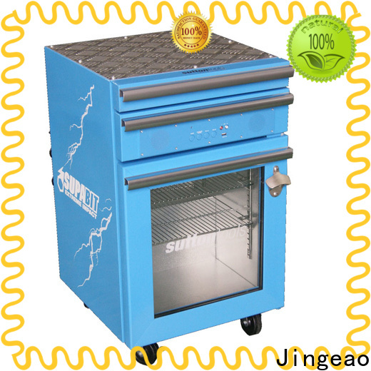 Jingeao blue toolbox refrigerator manufacturers for school