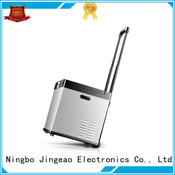 Jingeao compressor portable fridge management for vans