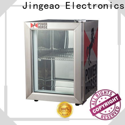 Jingeao display small display fridges company for wine
