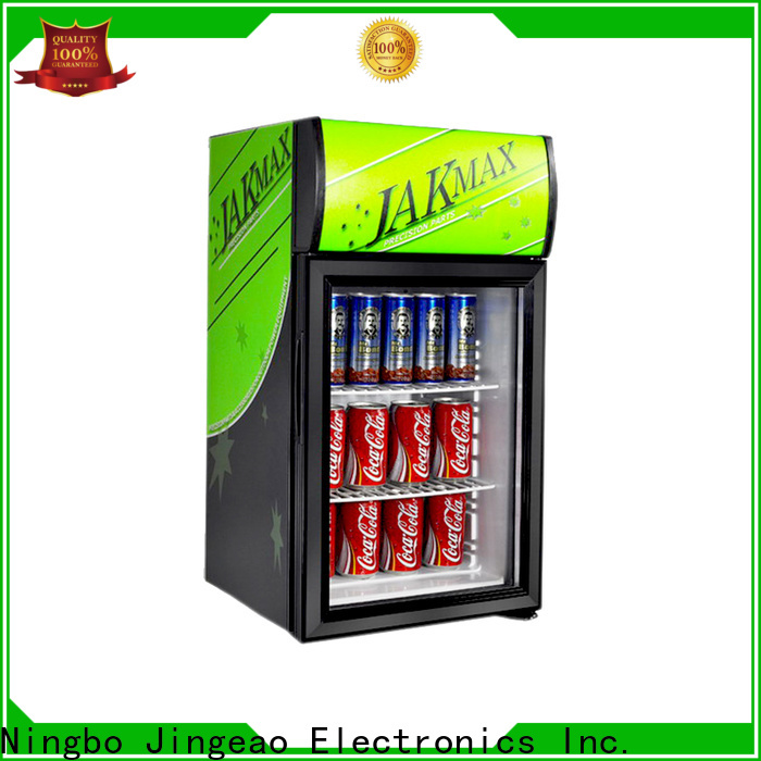 Jingeao Customized small glass fridge vendor