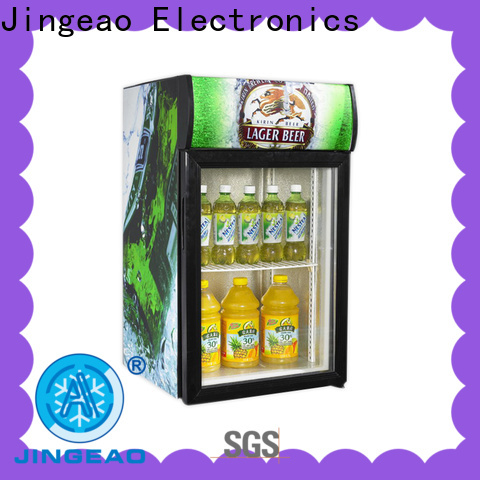 Jingeao fridge commercial display fridge for sale suppliers for restaurant