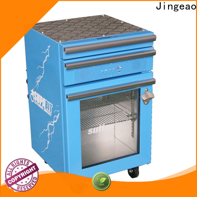 Jingeao Latest commercial display fridges factory price