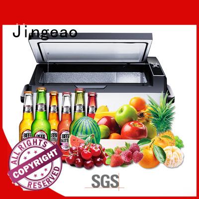 Jingeao fridge best cooler for car travel application for car