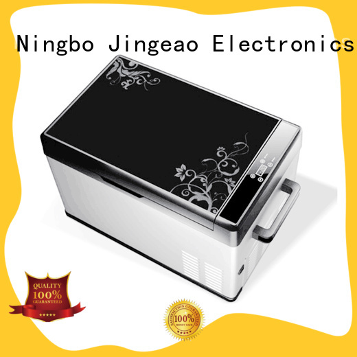 Jingeao small mini electric cooler certifications for vans