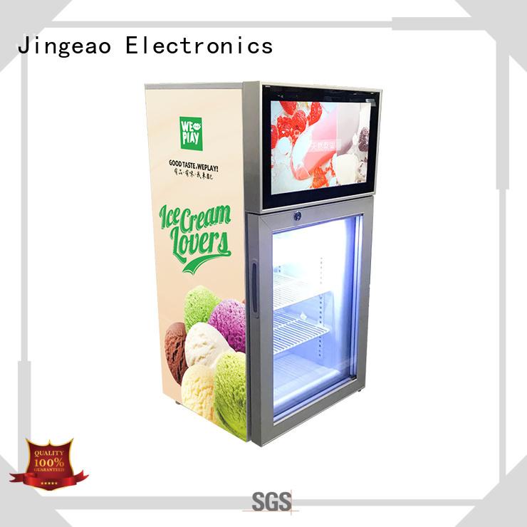 assortment screen fridge fridge effectively for shopping mall