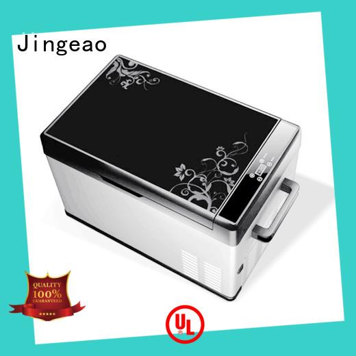 Jingeao good looking travel fridge car for vans