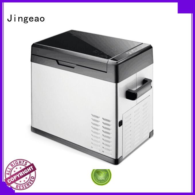 Jingeao car vehicle refrigerator environmentally friendly for car