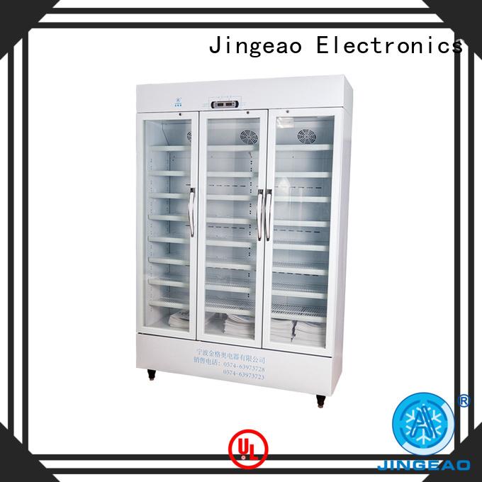 Jingeao medical pharmaceutical refrigerator supplier for hospital