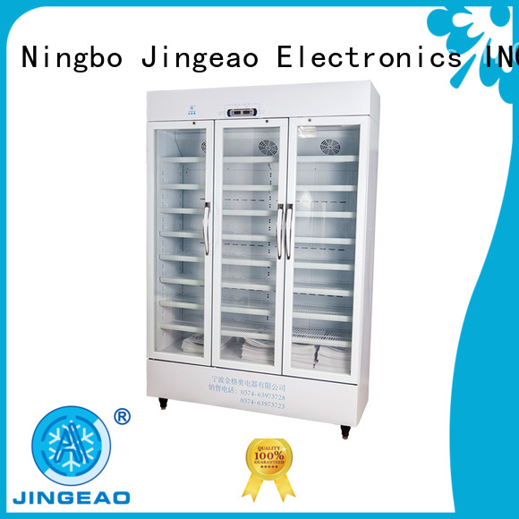 Jingeao easy to use medical fridge with lock supplier for drugstore