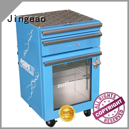 Jingeao drawers toolbox cooler export for restaurant