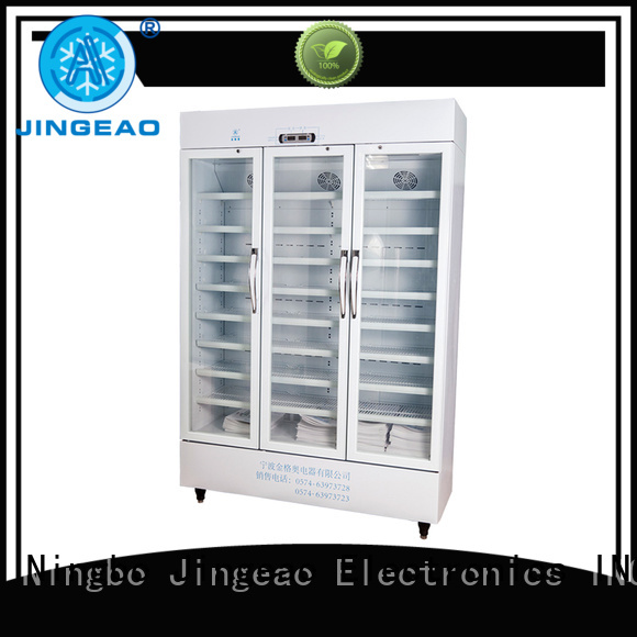 Jingeao fridge pharmacy freezer manufacturers for hospital