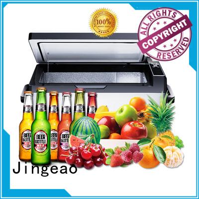 Jingeao coolest travel fridge marketing for vans