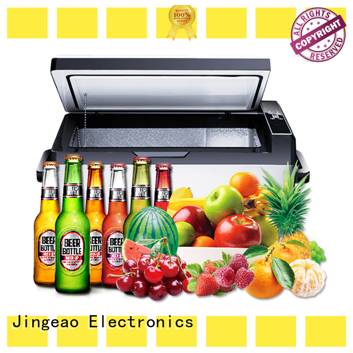 Jingeao car fridge freezer environmentally friendly for vans