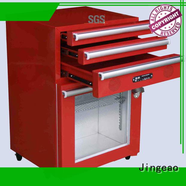 Jingeao fashion design toolbox fridge export for bar