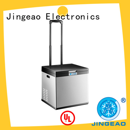 Jingeao automatic camping fridge for sale marketing for vans