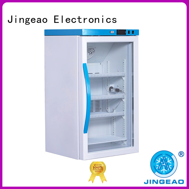 Jingeao power saving refrigerator with lock owner for drugstore