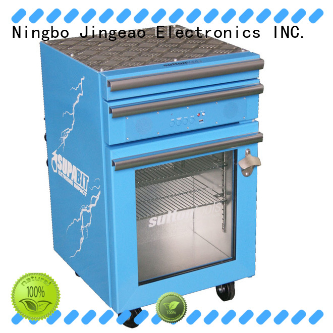 Jingeao fashion design small commercial fridge manufacturer for hotel