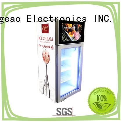 Jingeao outstanding video fridge for shopping mall