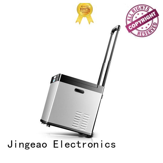 Jingeao compressor outdoor compact refrigerator marketing for vans