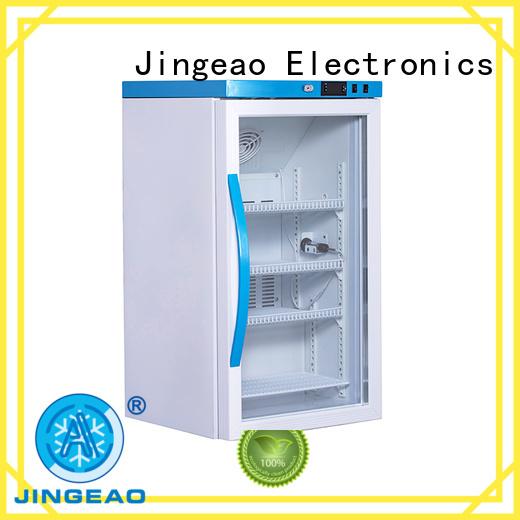 Jingeao easy to use pharmaceutical fridge speed for hospital
