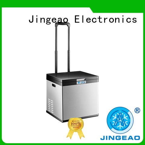 Jingeao small car fridge freezer type for vans