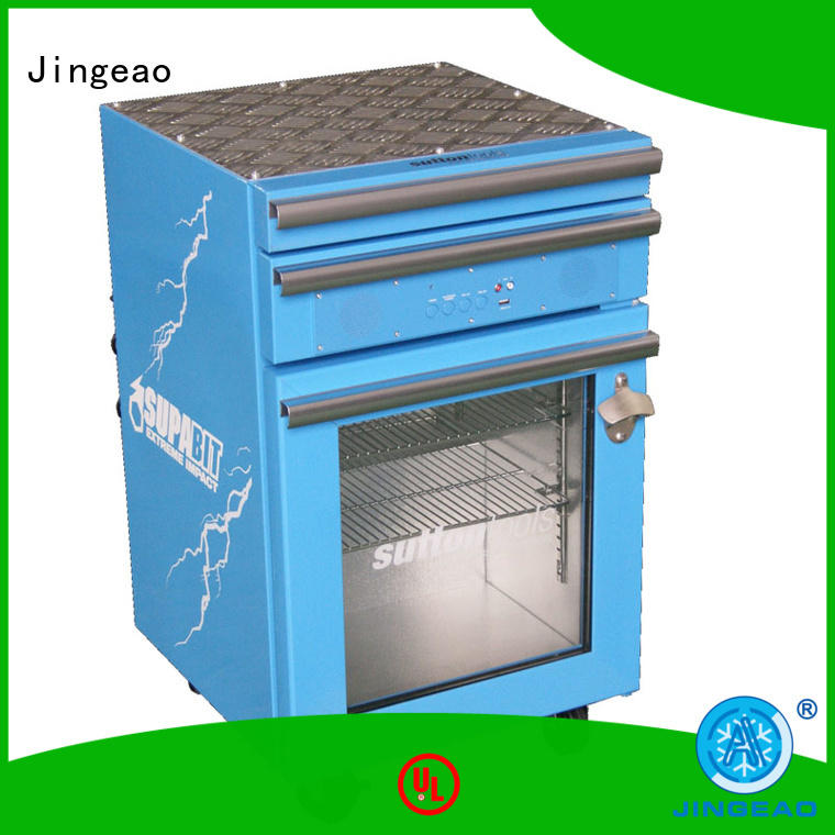 Jingeao door toolbox fridge for wholesale for wine