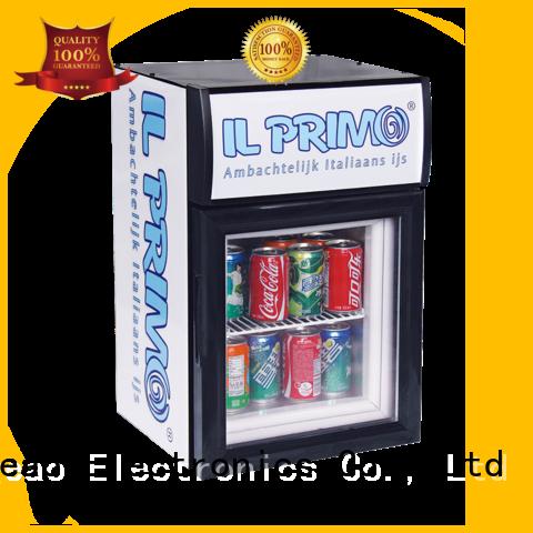 Jingeao beverage commercial display fridges sensing for school