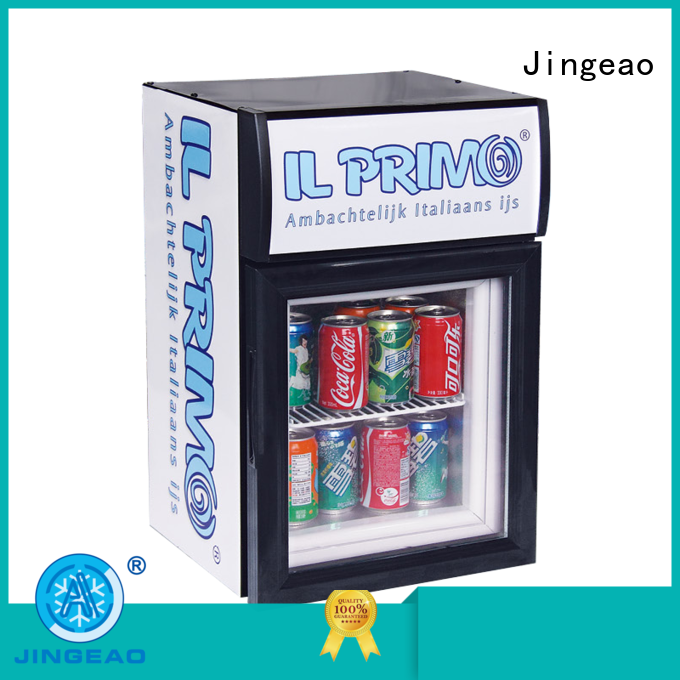 Jingeao display commercial display refrigerator for-sale for supermarket