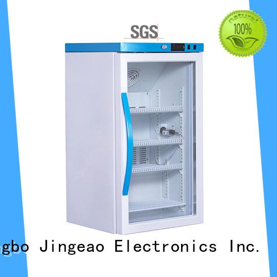 Jingeao efficient medication fridge with lock testing for pharmacy