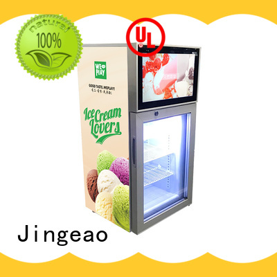 Jingeao viedo commercial freezer effectively for resturant