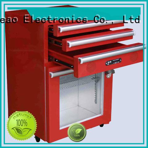 fashion design commercial display fridges drawerstoolbox manufacturer for wine